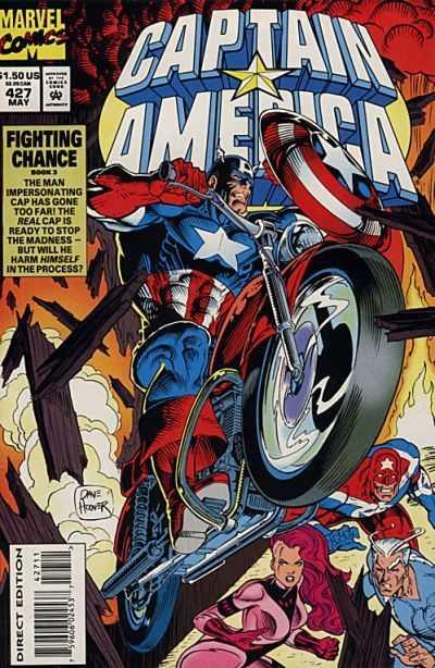 Captain America #427