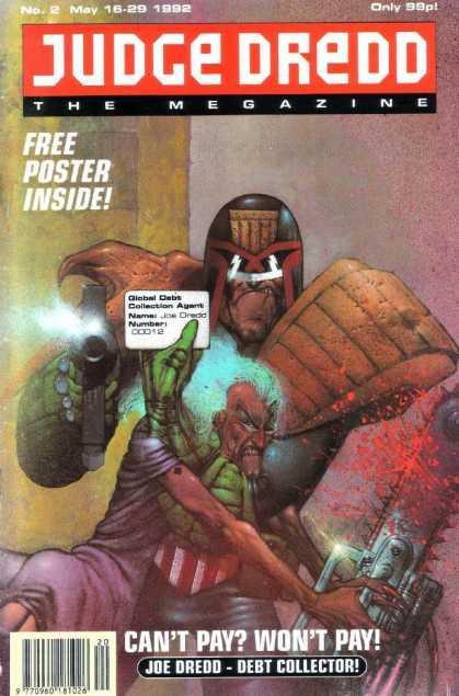 Judge Dredd: The Megazine #2
