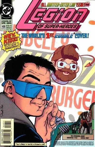 Legion of Super-Heroes #49