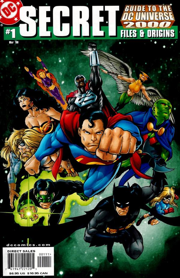 Secret Files and Origins Guide to the DC Universe 2000 #1