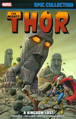 The Mighty Thor: Epic Collection - Kingdom Lost TP