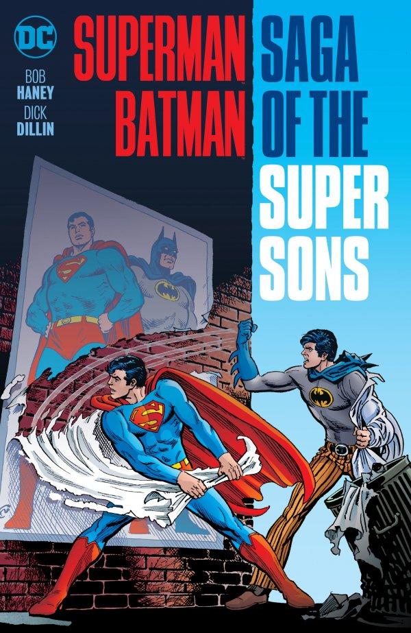 Superman / Batman: Saga of the Super Sons 2017 Printing