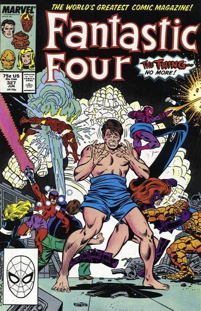 Fantastic Four #327