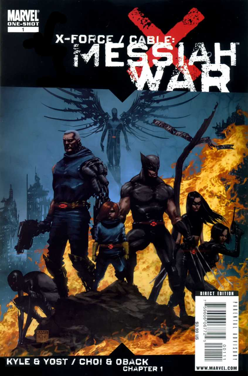 X-Force / Cable: Messiah War #1