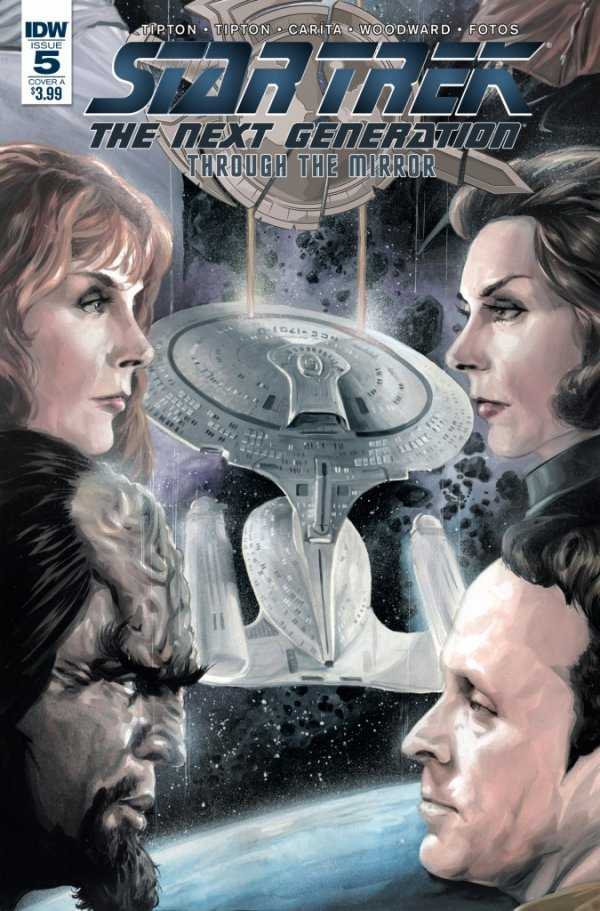 Star Trek: The Next Generation: Through The Mirror #5