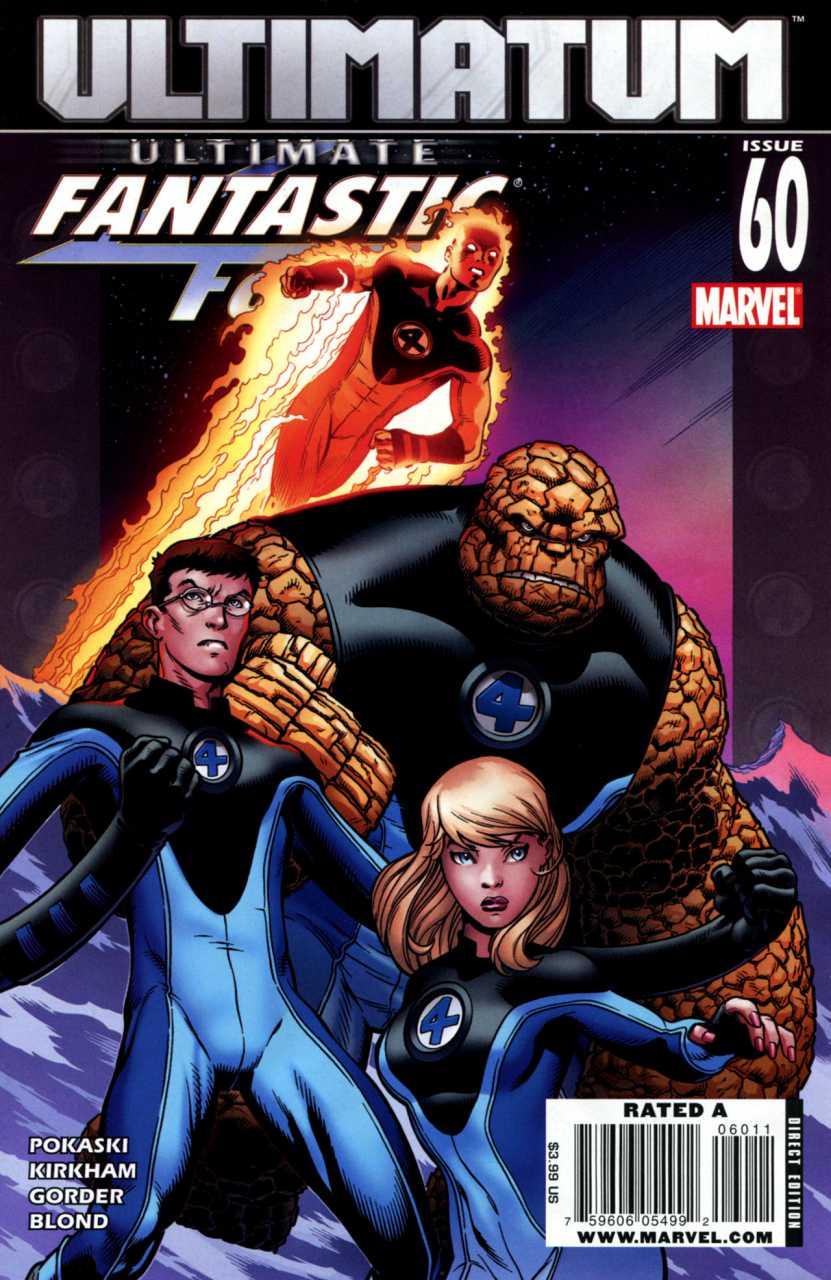 Ultimate Fantastic Four #60