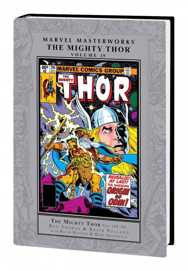 Marvel Masterworks: The Mighty Thor Vol. 19 HC