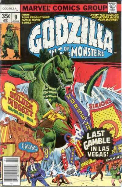 Godzilla: King of the Monsters #9