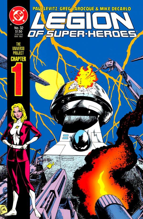Legion of Super-Heroes #32