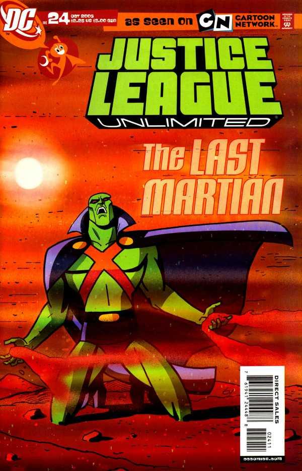Justice League Unlimited #24