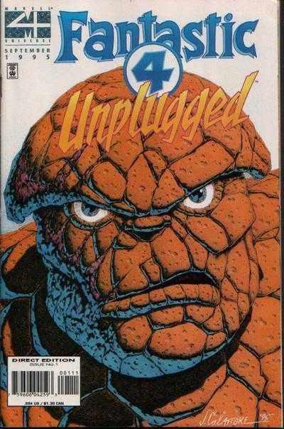 Fantastic Four Unplugged #1