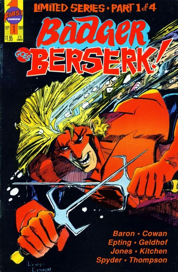 Badger Goes Berserk! #1