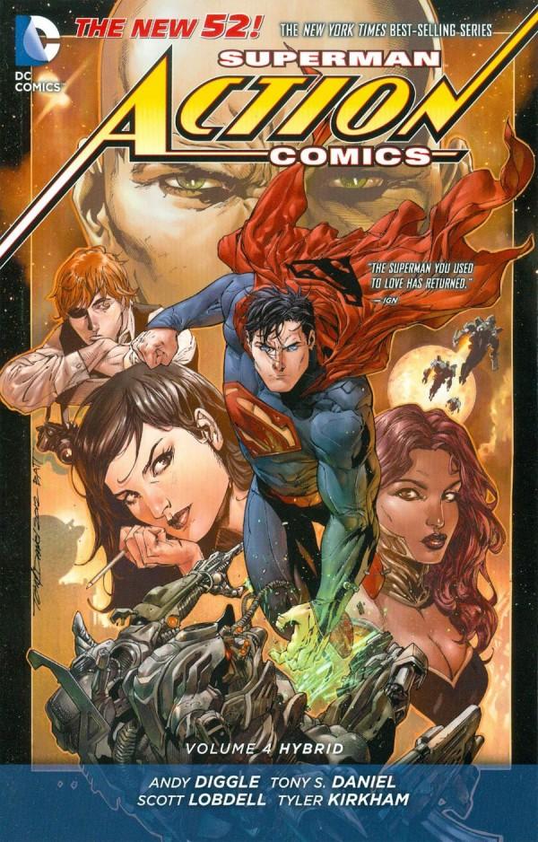 Superman Action Comics Vol. 4: Hybrid TP