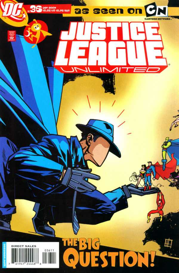 Justice League Unlimited #36