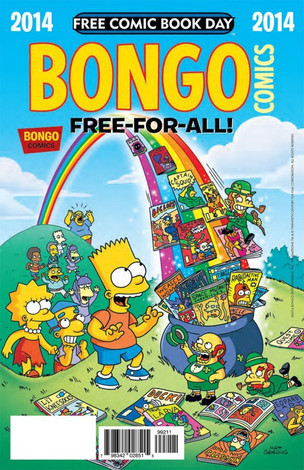 Free Comic Book Day 2014: Bongo Comics Free-For-All! #1