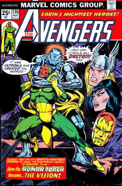 The Avengers #135