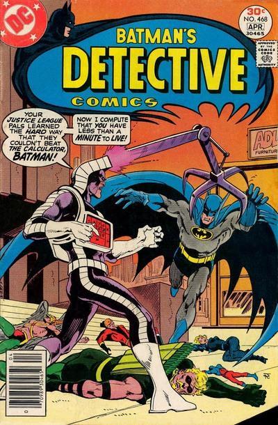 Detective Comics #468