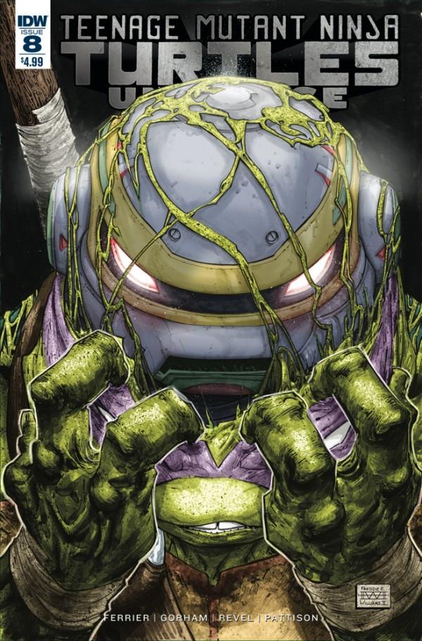 Teenage Mutant Ninja Turtles: Universe #8