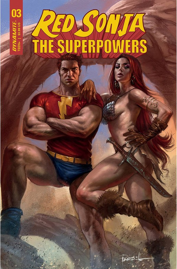 Red Sonja: The Superpowers #3