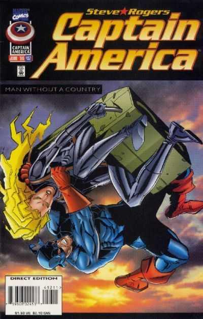 Captain America #452