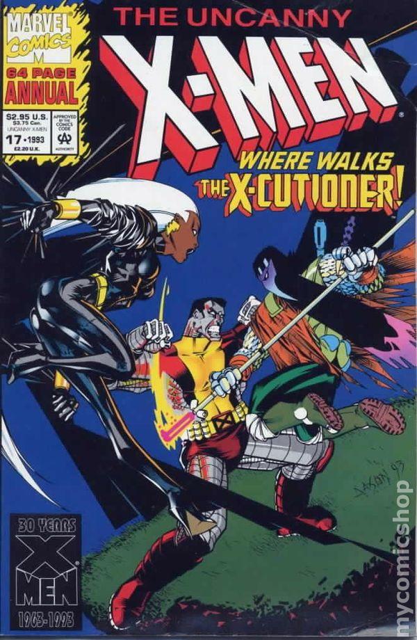 Uncanny X-Men Annual #17