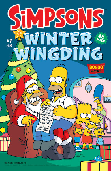 The Simpsons: Winter Wingding #7