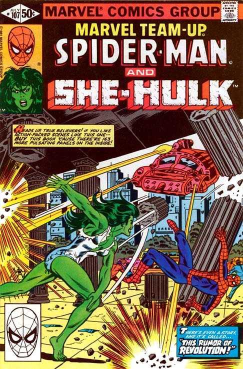 Marvel Team-Up #107