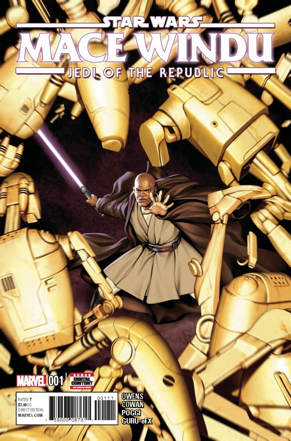 Star Wars: Jedi of the Republic - Mace Windu #1