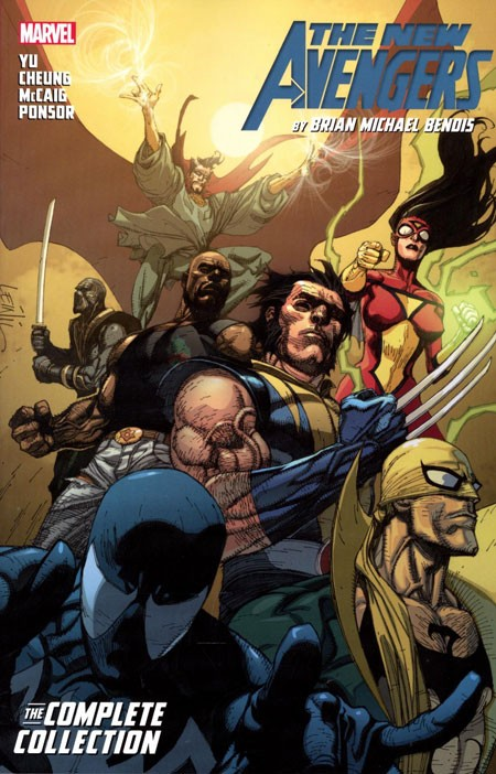 The New Avengers By Bendis Complete Collection Vol. 3 TP