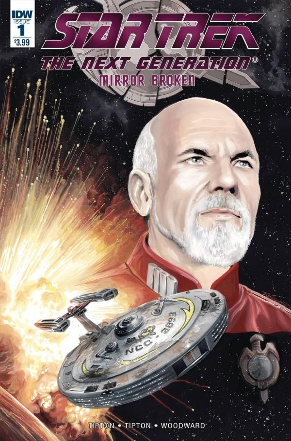 Star Trek: The Next Generation - Mirror Broken #1