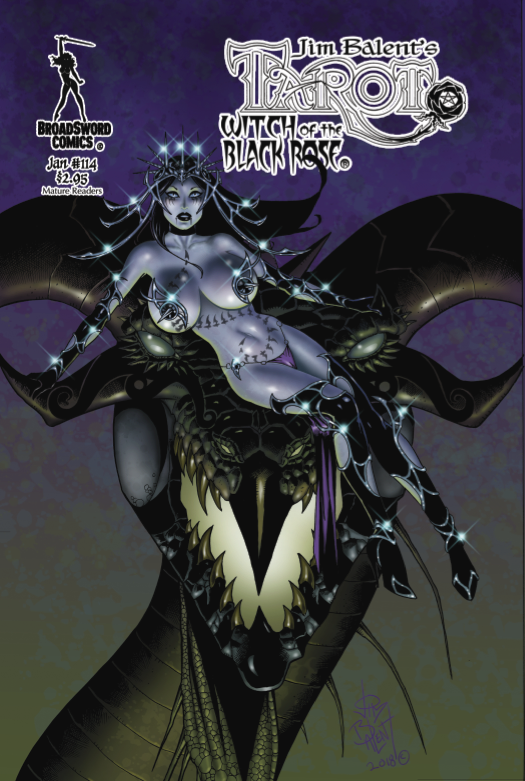 Tarot: Witch of the Black Rose #114 review