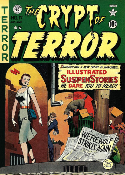 The Crypt of Terror #17