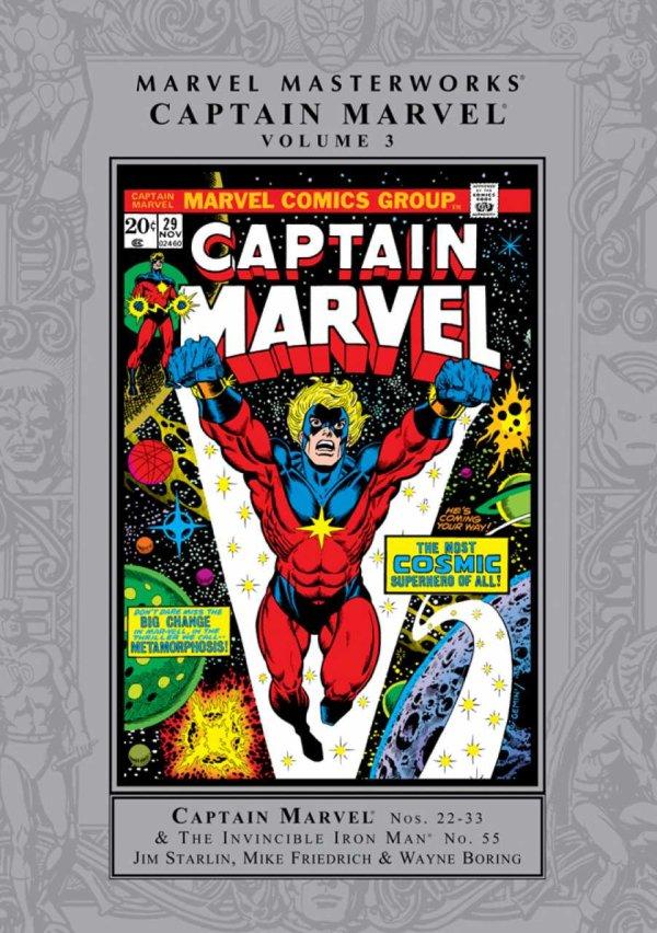 Marvel Masterworks: Captain Marvel Vol. 3 HC