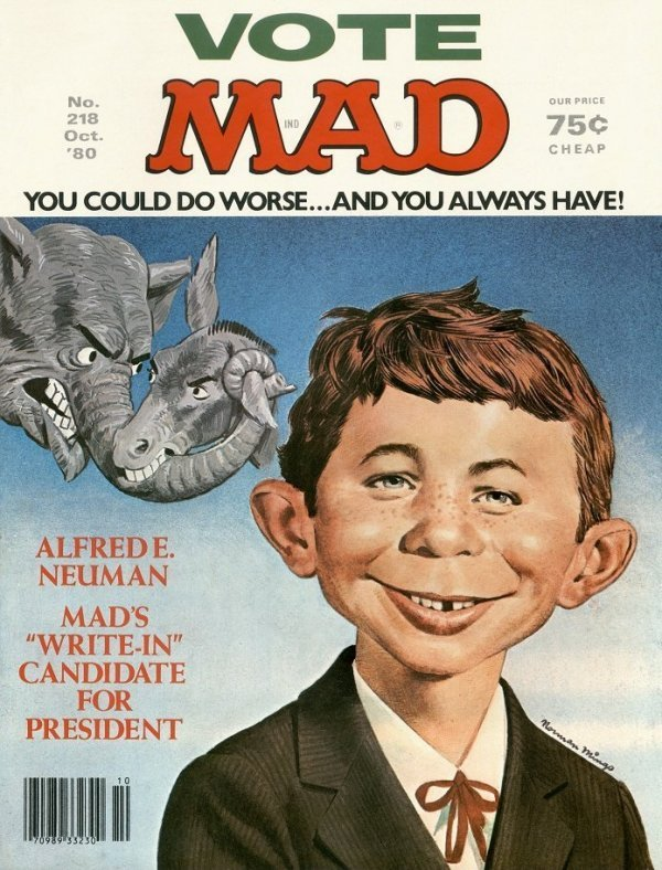 Mad Magazine #218