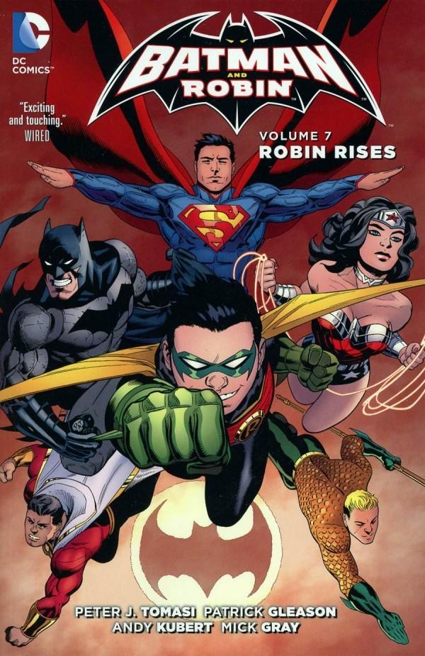 Batman and Robin Vol. 7: Robin Rises TP