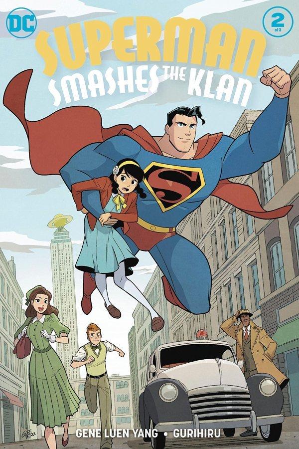 Superman Smashes The Klan #2