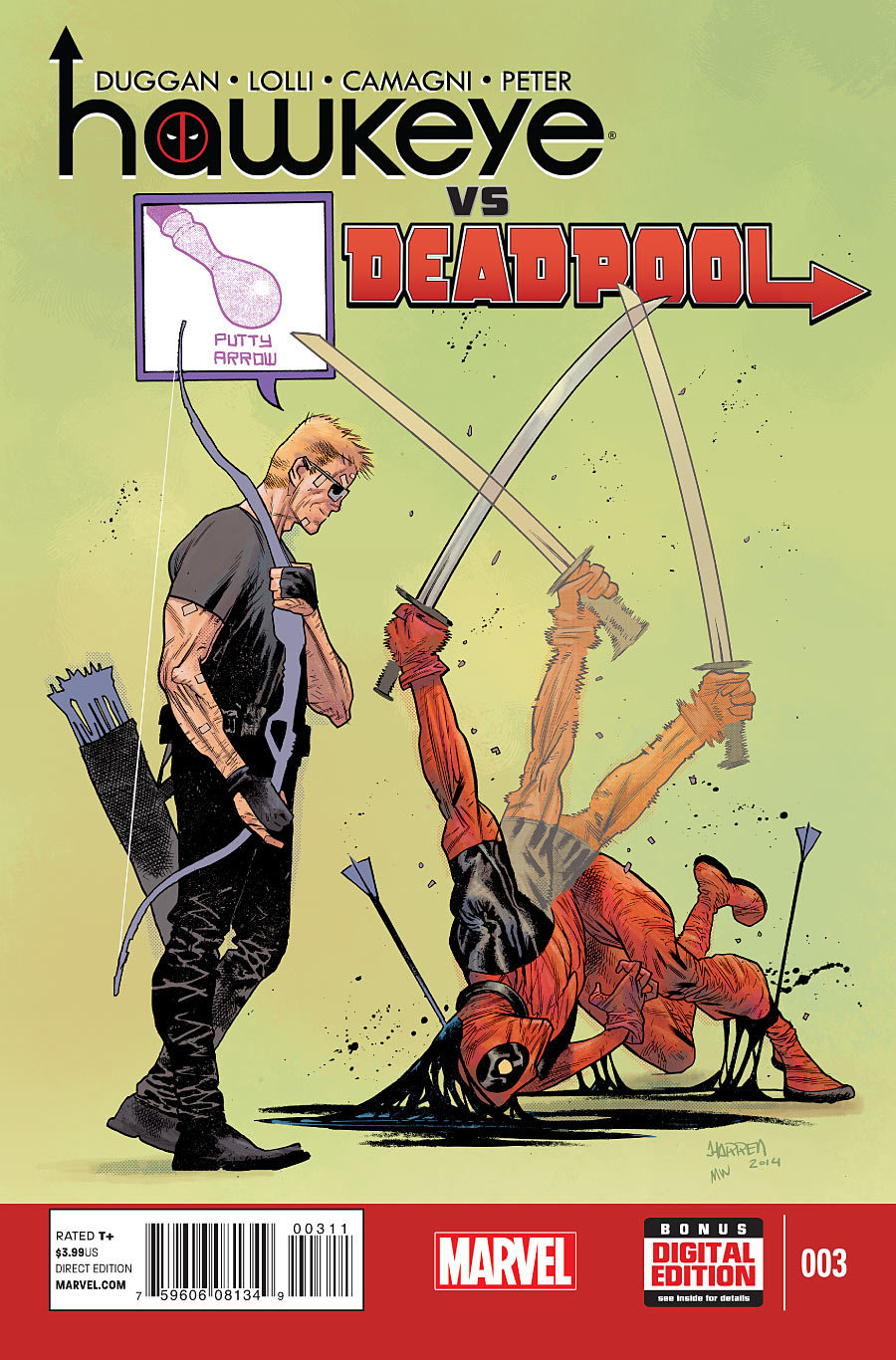 Hawkeye vs. Deadpool #3