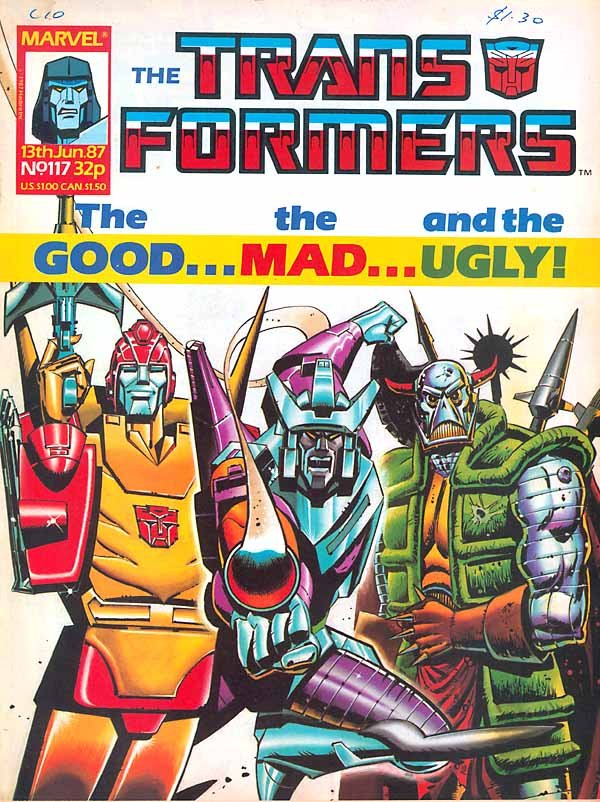 The Transformers #117
