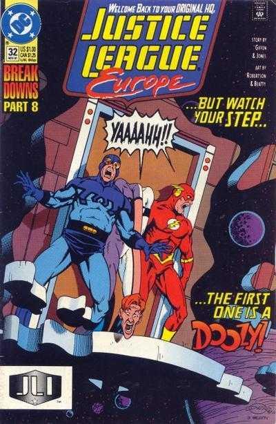 Justice League Europe #32