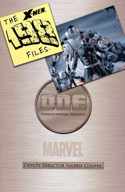 X-Men: The 198 Files #1