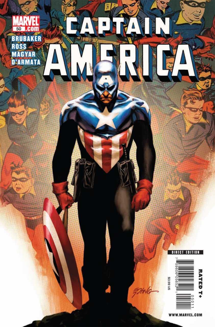 Captain America #50