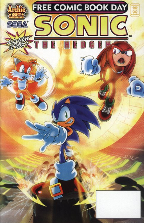 Free Comic Book Day 2007 Sonic The Hedgehog 1 Reviews