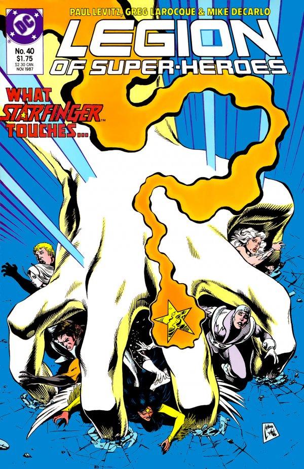 Legion of Super-Heroes #40