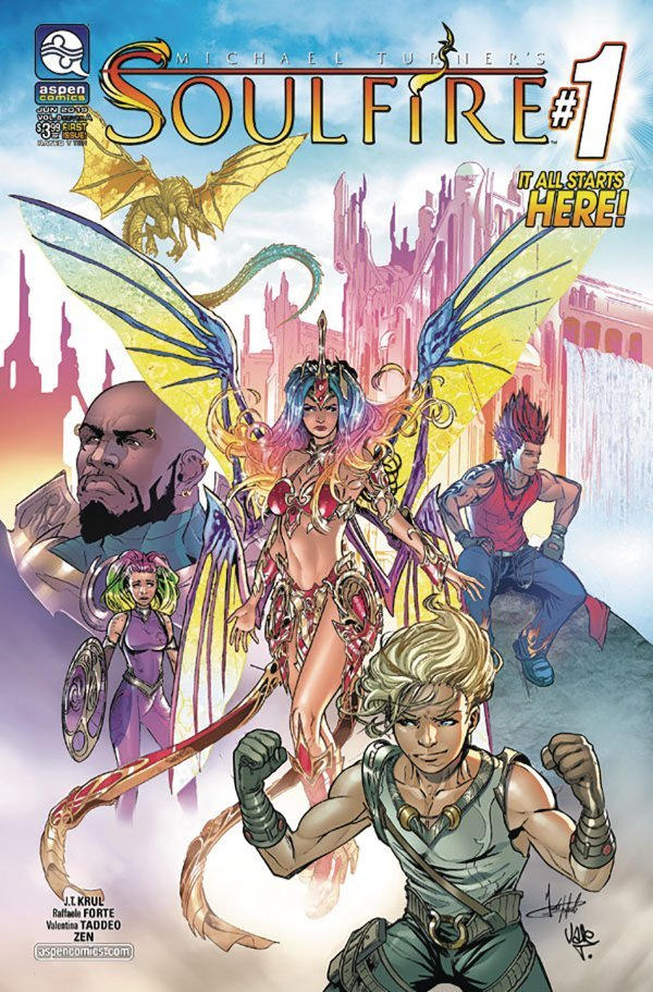 Soulfire #1 review