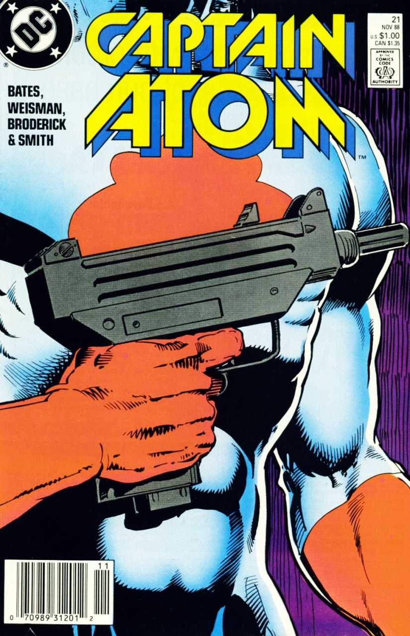 Captain Atom #21