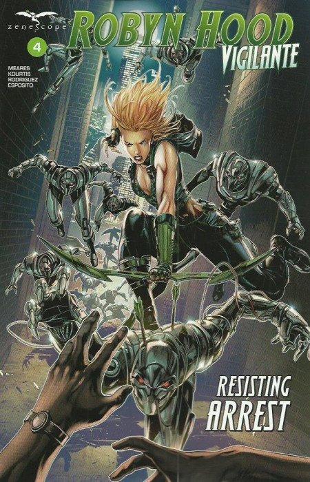 Robyn Hood: Vigilante #4 review
