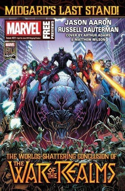 Marvel Previews #21