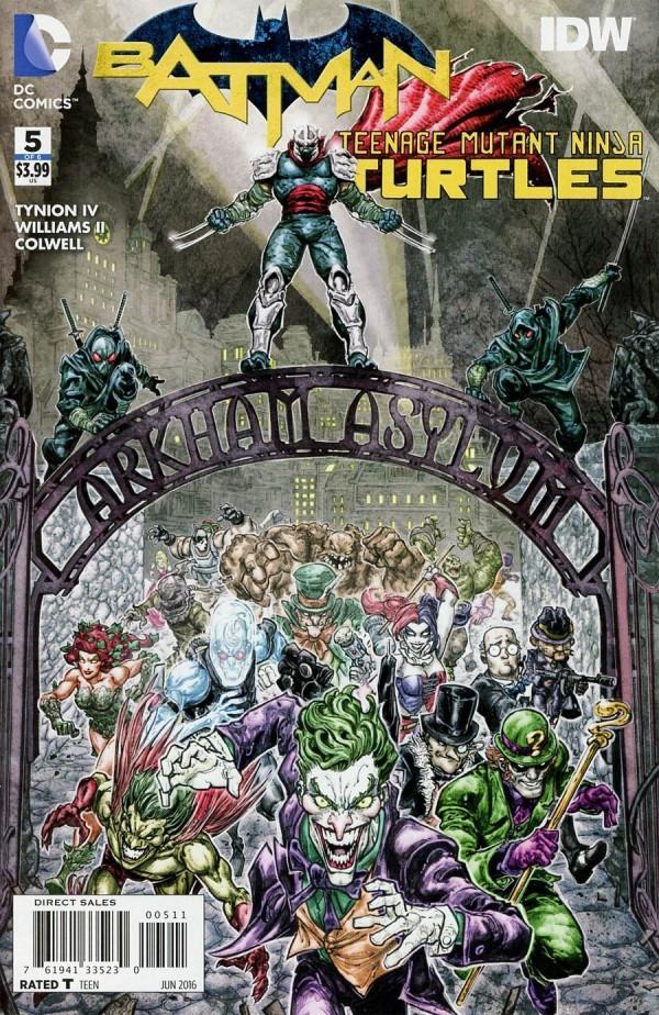 Batman / Teenage Mutant Ninja Turtles #5