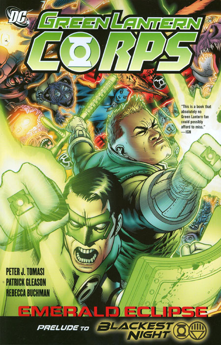 Green Lantern Corps: Emerald Eclipse TP