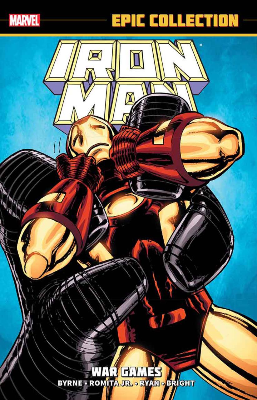 Iron Man Epic Collection: War Games TP